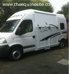 Vauxhall Movano 3.5t horsebox 56 reg